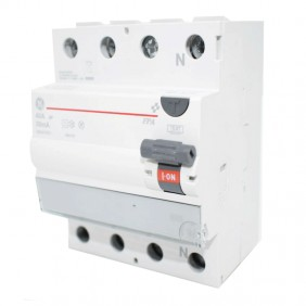 GE 40A 4-pole differential switch type A 30mA...