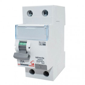 Bticino residual current circuit breaker 2P 25A...