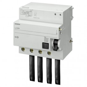 Siemens 4P 100A 30mA differential lock AC type...