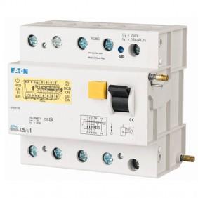 Eaton 125A 30mA 4P AC couplable residual...