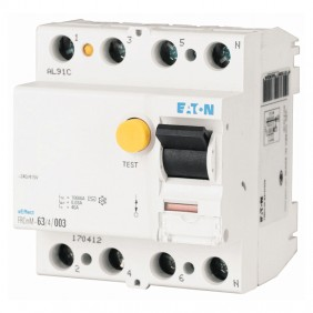 Eaton pure differential switch 63A 4P 30mA 4...