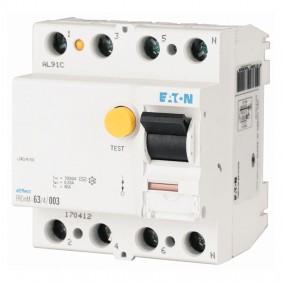 Interruttore differenziale Eaton puro 63A 4P...
