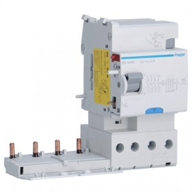 Hager differential lock 4P 63A 500mA AC/S 3...