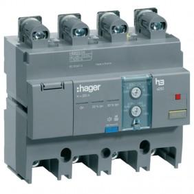 Blocco differenziale Hager 4P 250A regolabile...