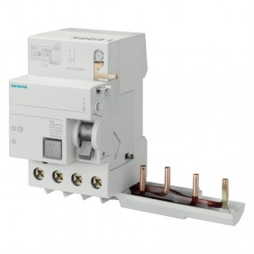 Siemens 4-pole differential block 63A 500mA for...