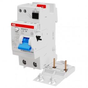 ABB DDA202 2P 40A 300mA differential lock type...