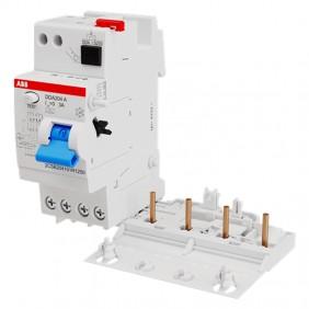 ABB DDA204 4P 25A 300mA AC differential lock 2...