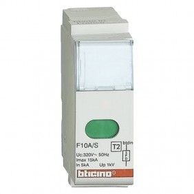 Bticino replacement cartridge for F10A/S surge...