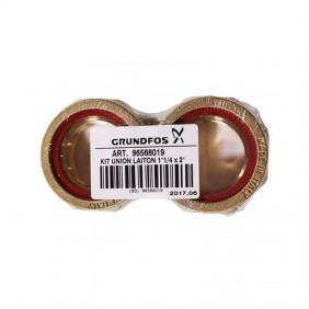 Grundfos pipe union set 5/4 BRASS 96568019