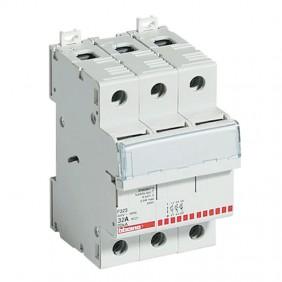 Bticino sectionneur porte-fusible 3P 32A 500V 3...