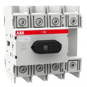 ABB OT125M4 4P 125A Rotary Disconnect Switch...