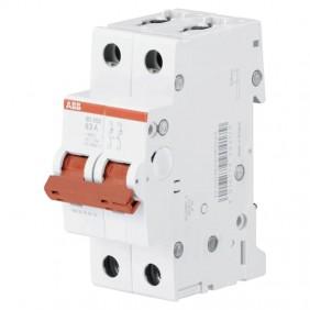 ABB 63A SD202/63 2-pole 2-module switch...