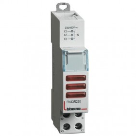 Bticino indicator light with 3 red LEDs 230-400...
