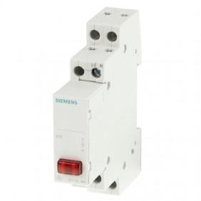 Siemens indicator lamp 1M 230V red 5TE5800