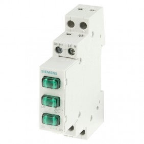 Siemens indicator lamp 1M 230V green 5TE5802