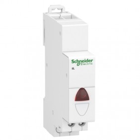 Schneider indicator lamp 1 module 110/230V red...