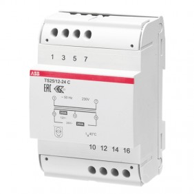 ABB TSC 25V 12-24Vac modular transformer M429285
