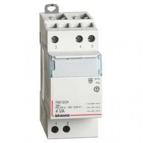 Bticino single-phase transformer 4A 230V output...