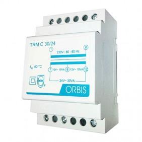Orbis 30VA 230/12-24V AC modular transformer...