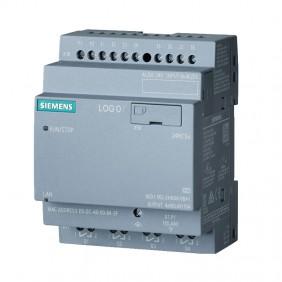 Siemens LOGO! 24RCEO 8DI/4DO 400 Blocks...
