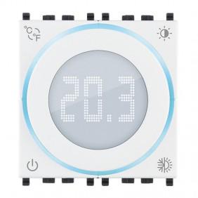Termostato a rotella Vimar 2 Moduli con display...