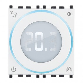 Vimar 2 Module Rotary Thermostat with Display...