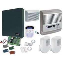 HILTRON SERIE XM Kit centrale antifurto con consolle + accessori KXMA4000