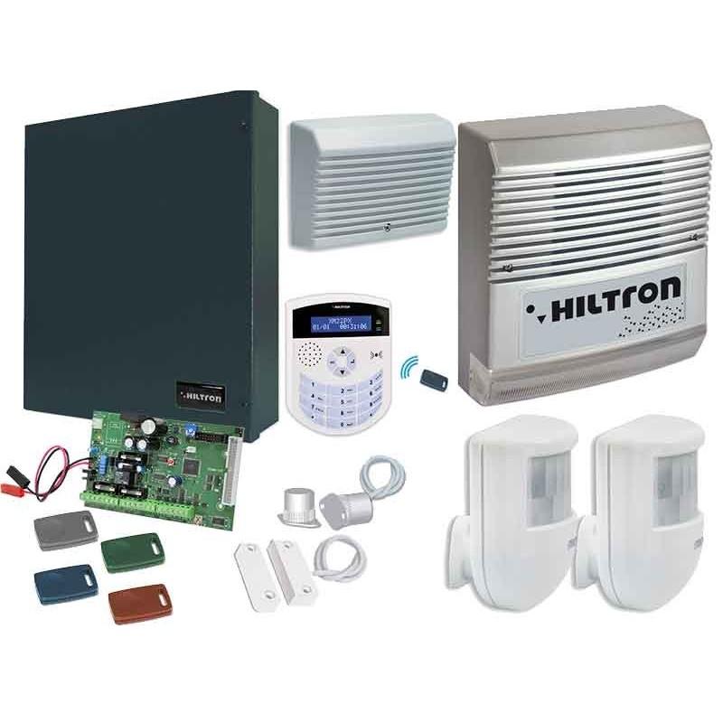 CIA HILTRON SERIE XM Kit centrale antifurto con consolle + accessori KXMA4000