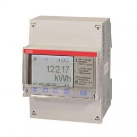Compteur d'énergie ABB A41 112-100 monophasé...