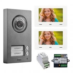 KIT Video Door Phone Urmet Two-Family with...