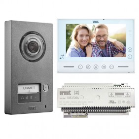 KIT video door phone Urmet Single-family with...