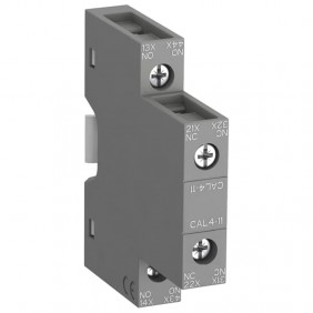 Auxiliary contact Abb side NA+NC CAL411