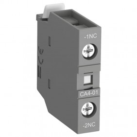 Auxiliary contact Abb NC front CA401