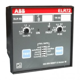 ABB ELR72 Electronic Differential Relay