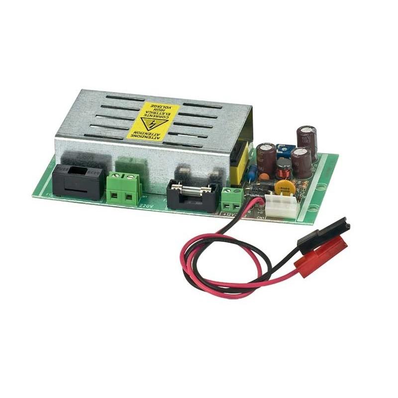 Hiltron Netzteil/Ladegerät TM35SW mit Gehäuse für Batterie bis 12Ah