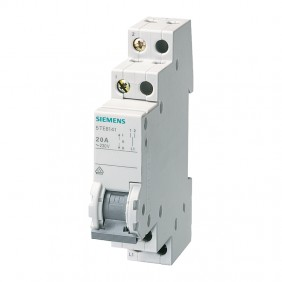 Siemens single pole switch 1P 20A 1-0-2 1...