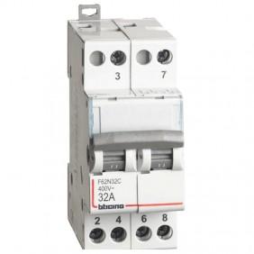 Bticino switch with central zero 2NO 32A...