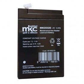 Lead acid battery 6V 3,3 Ah Cobat Included B6V3.3A