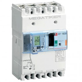 Bticino moulded case circuit breaker 125A...