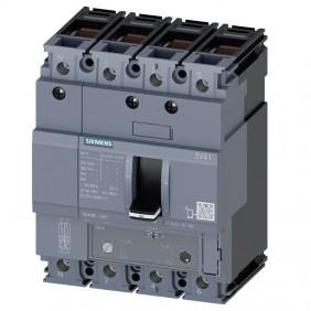 Siemens 3VA1 100A 4-pole 25K moulded case...