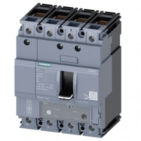 Siemens 3VA1 80A 4-pole 25KA 3VA11803GD420AA0...