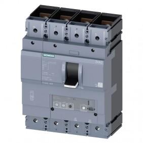 Siemens 3VA2 400A 4-pole 55KA moulded case...