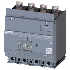 Siemens 160A Type A 4P Adjustable Differential...