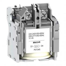 Schneider MN minimum voltage release for...