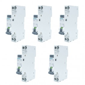 Siemens 16A 1P+N 30MA AC 4.5KA residual current...