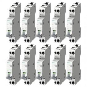 Siemens 16A 1P+N 4,5KA Circuit breaker kit...