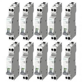 Siemens thermomagnetic circuit breaker kit 6A...