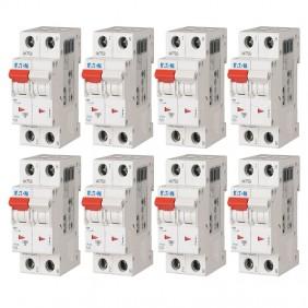 Kit Interruttori magnetotermici Eaton 10A 1P+N...