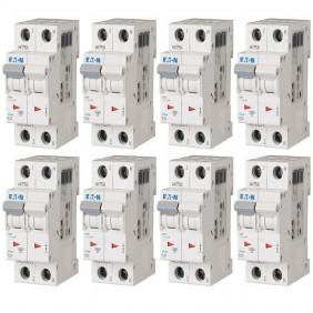 Kit Interruttori magnetotermici Eaton 16A 1P+N...