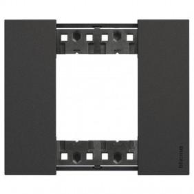 Bticino Living Now 2 Modules color black KA4802KG